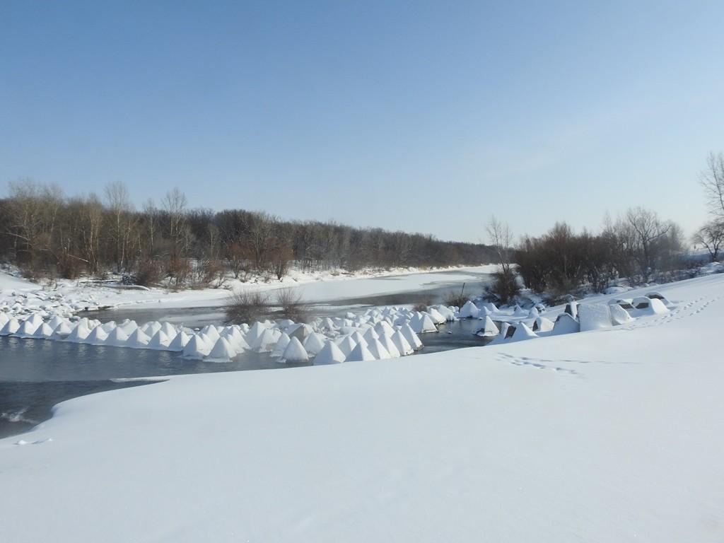 Плотина на р. Большой Иргиз