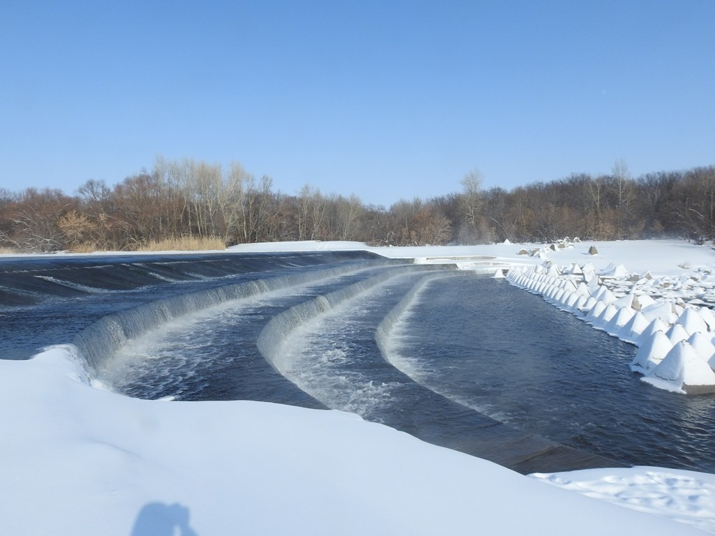 Водопад на реке Большой Иргиз