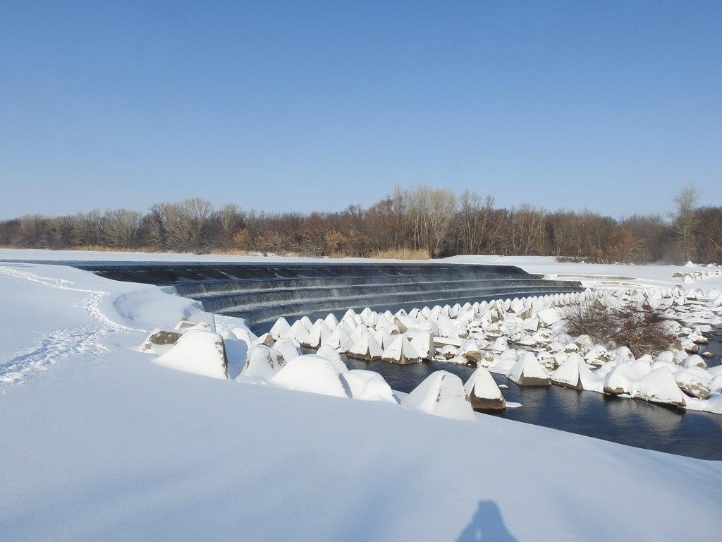 Водопад на р. Большой Иргиз