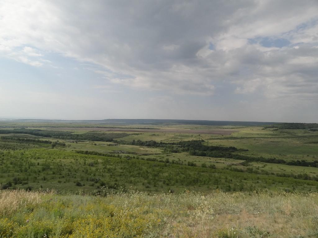 Вид на юго-восток с Будановой горы