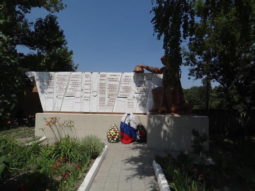Памятник ВОВ Багаевка