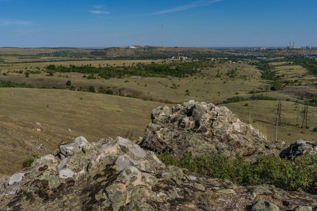 Вид с горы Лоб