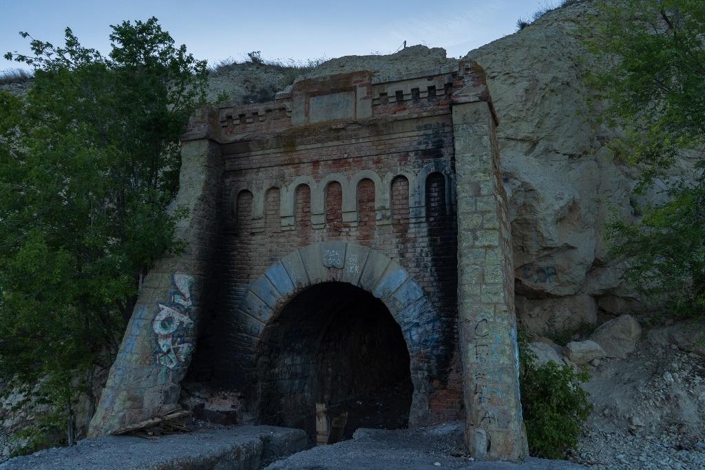 старый портал лесотранспортировщика
