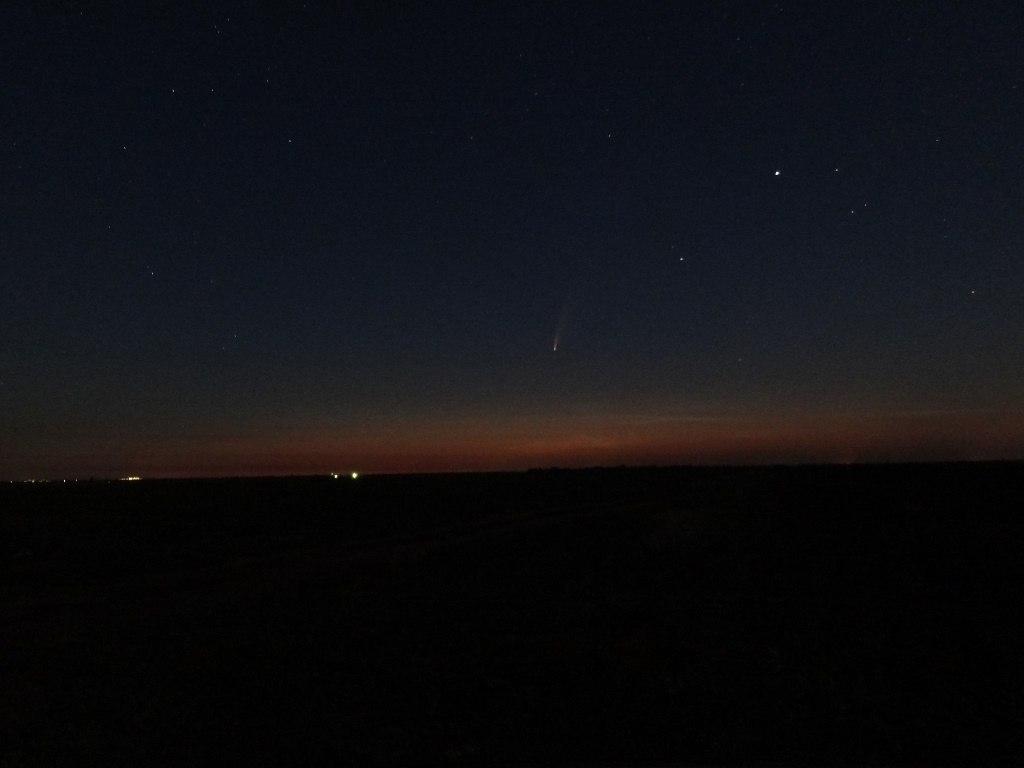 Комета на рассвете
