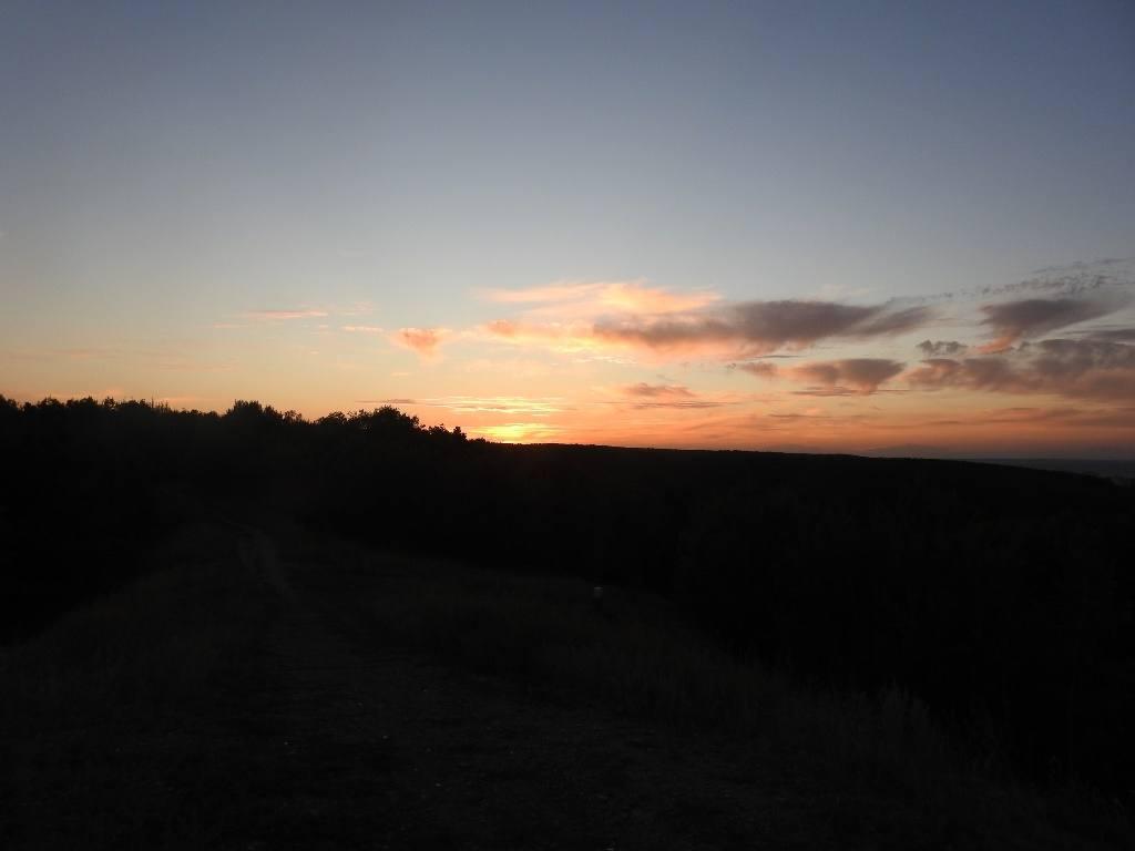 Закат над Кумыской