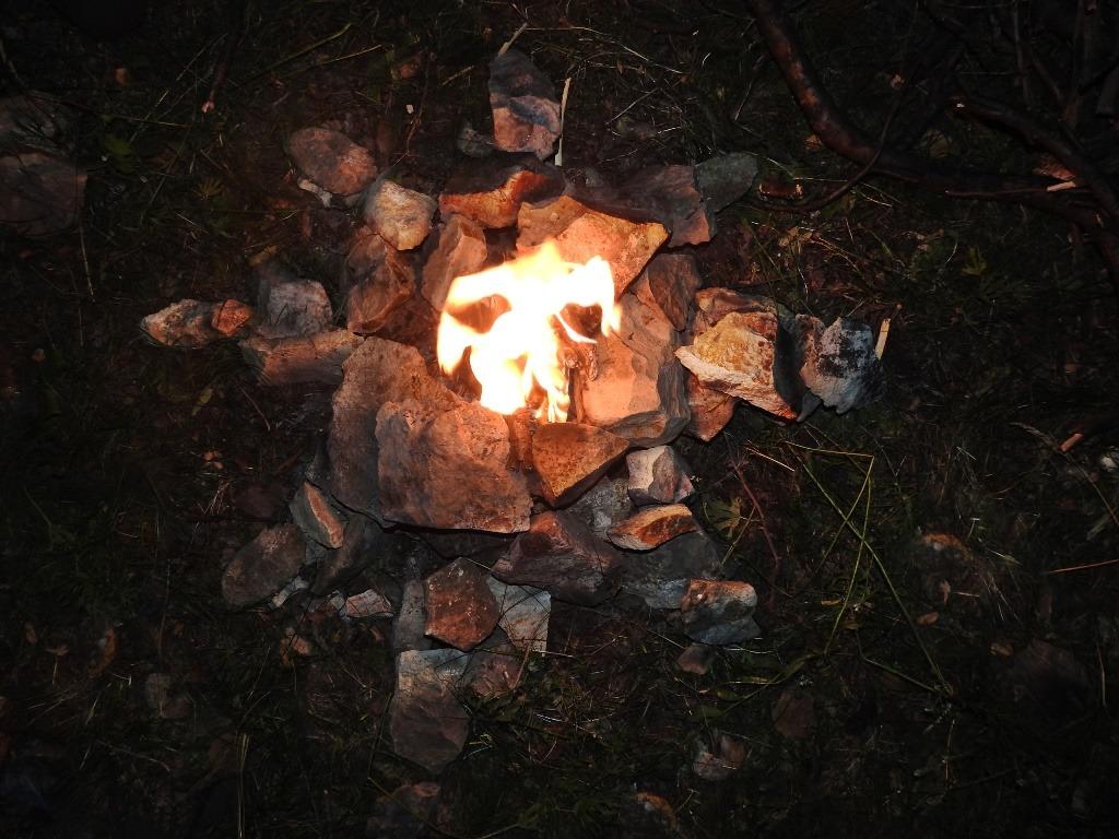 Восьмиконечная звезда с огнем в центре