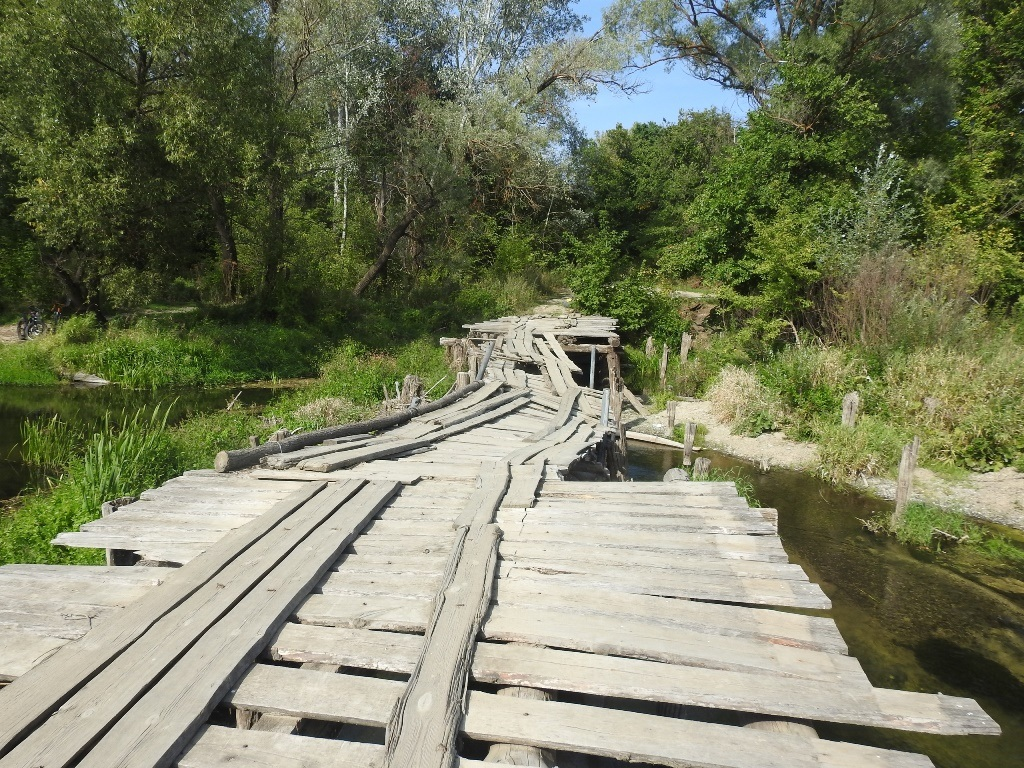 Старый мост через Медведицу