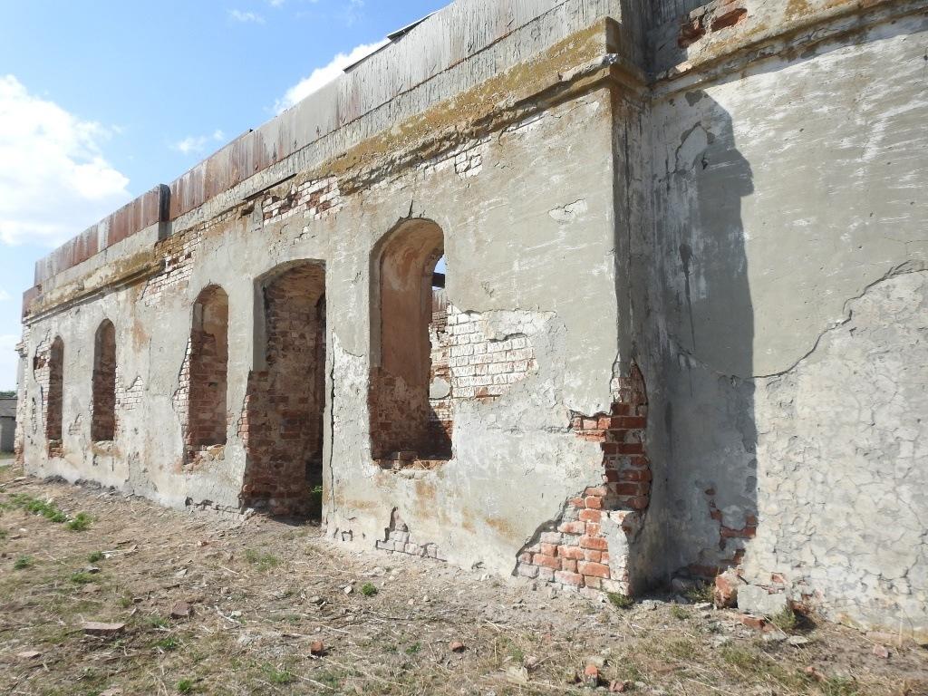 Заброшенная церковь село Невежкино