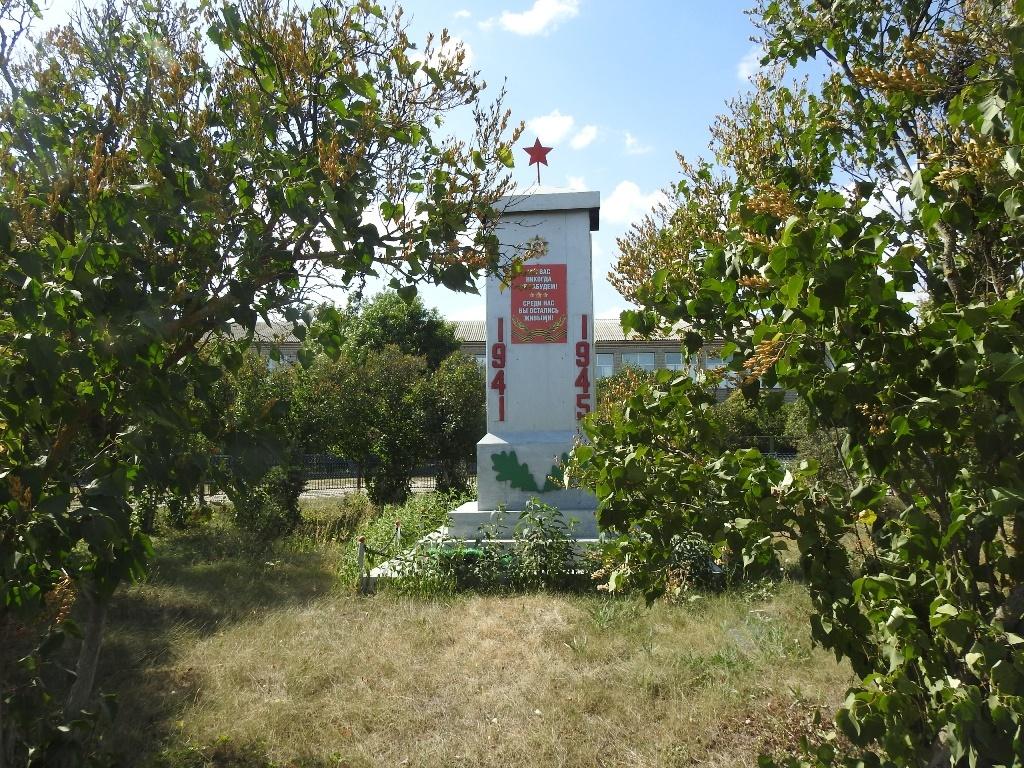 Памятник ВОВ село Невежкино