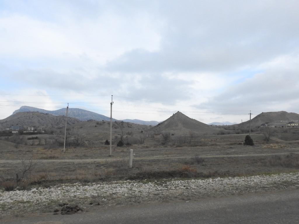 Холмы восточного Крыма