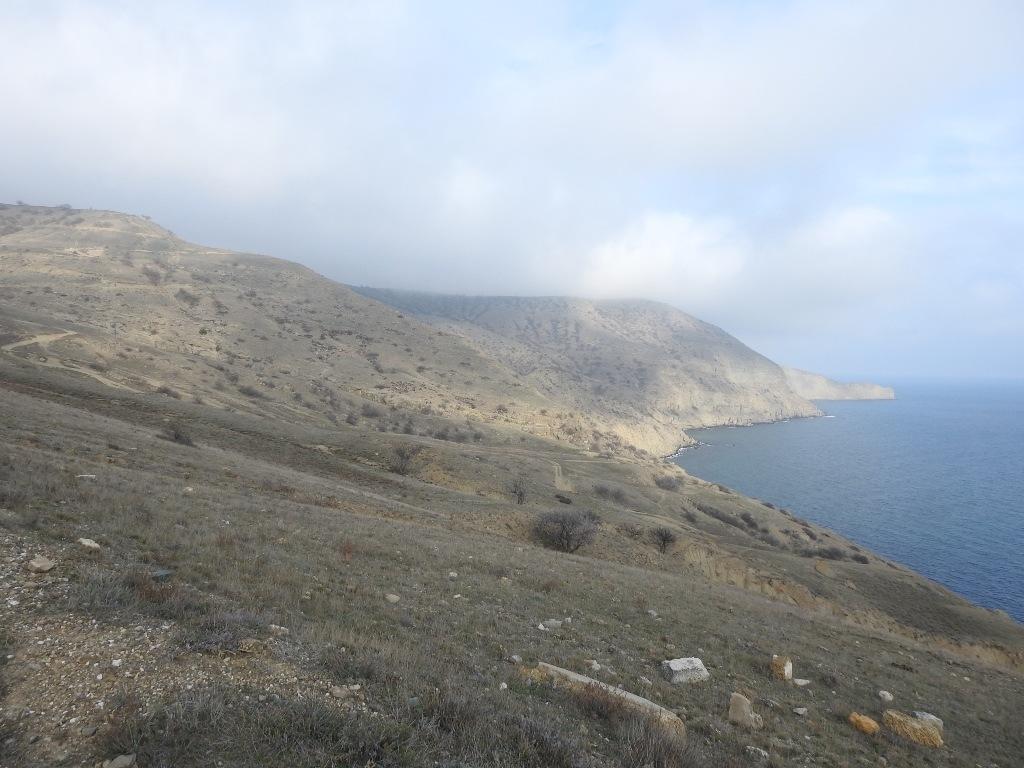 Побережье полуострова Меганом