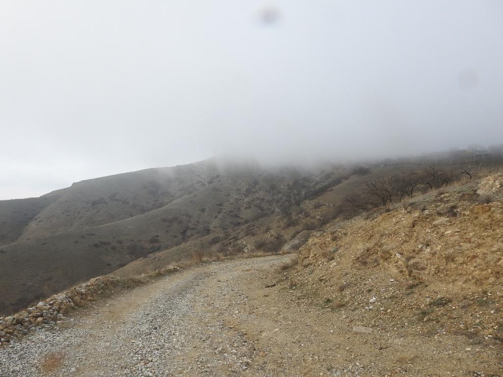 Туман на полуострове Меганом