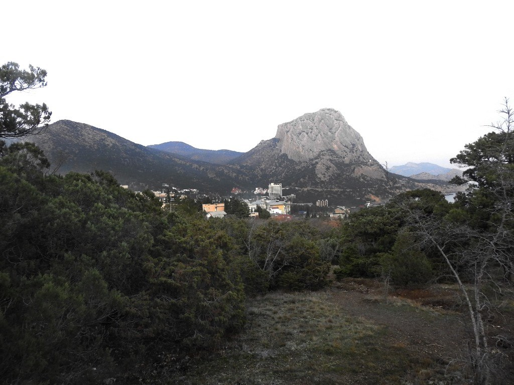 Гора Куш-Кая (Сокол)
