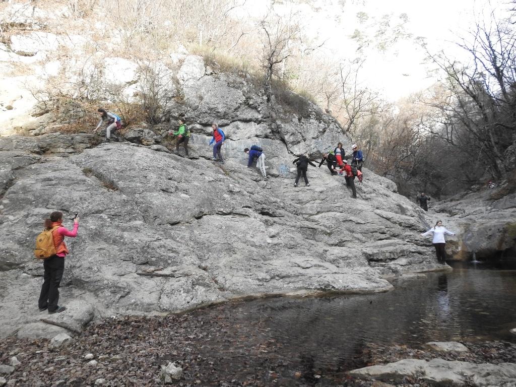 Труднопроходимые места Большого каньона Крымаа