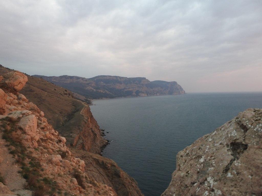 Море с Крепостной горы в Балаклаве