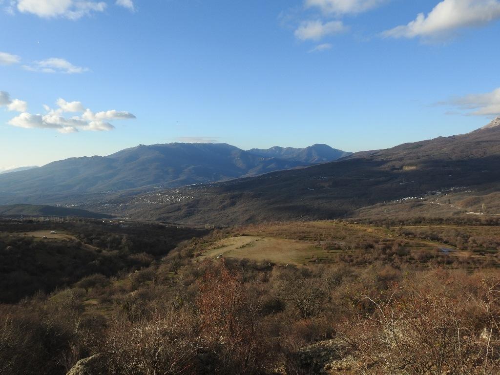 Вид со склона Демерджи