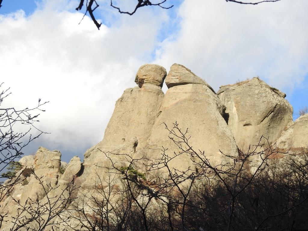 Скалы Долины привидений