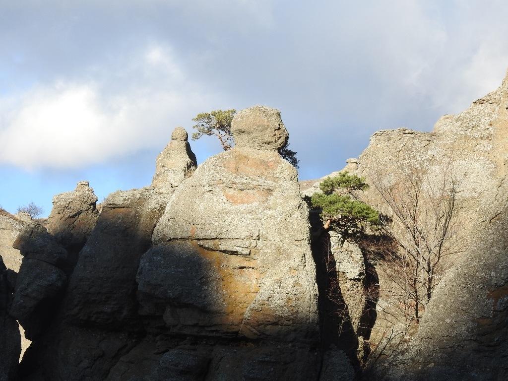 Скалы в Долине привидений