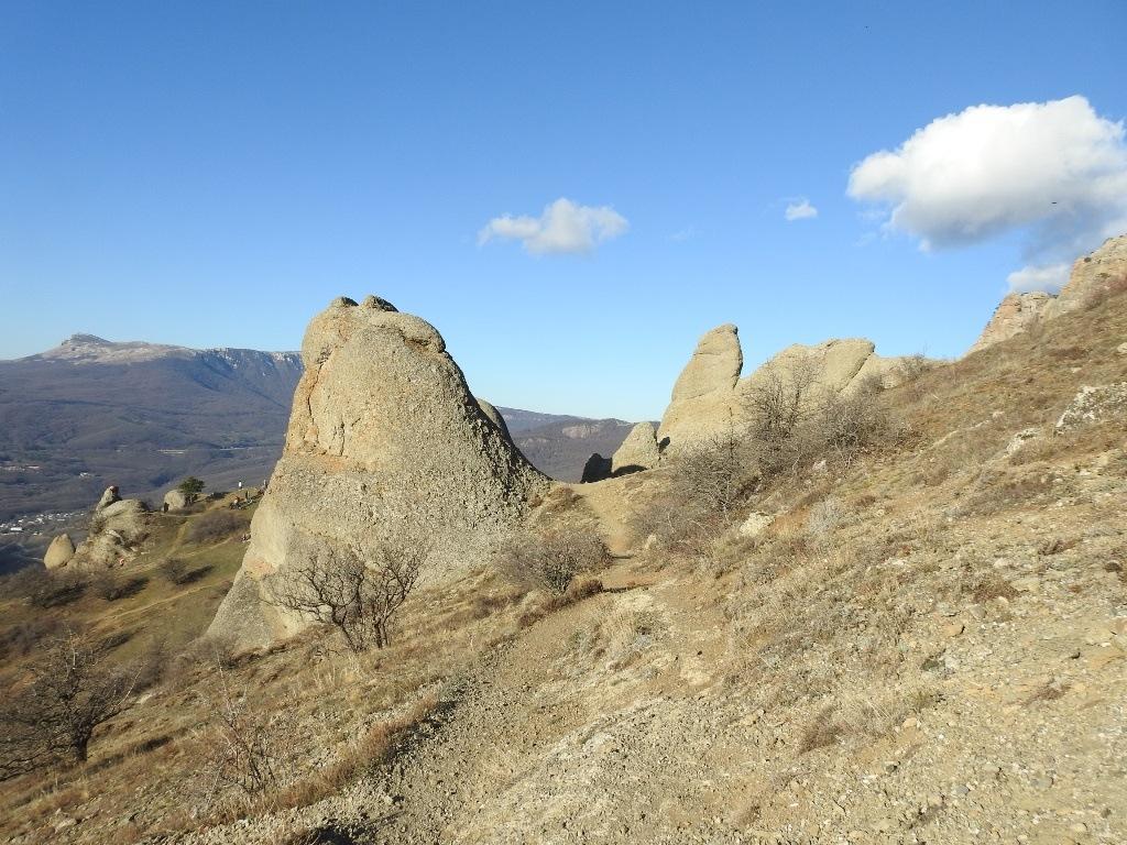Скалы, Южная Демерджи