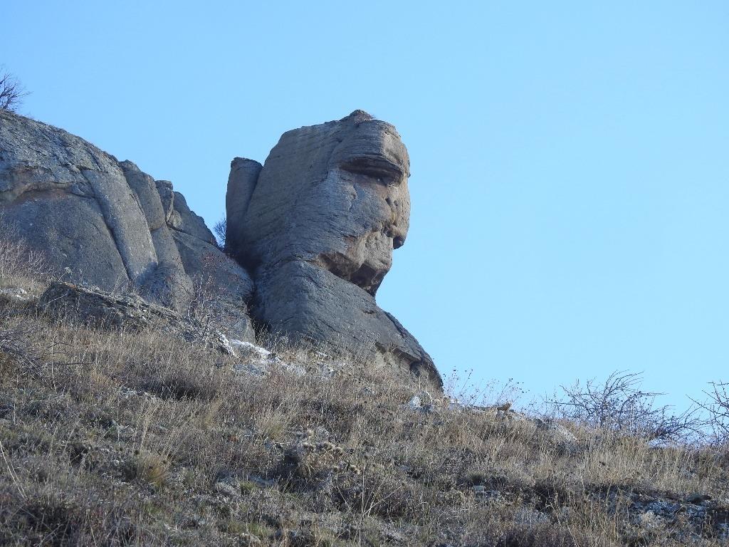 Скала Хой-Кая (голова Екатерины)