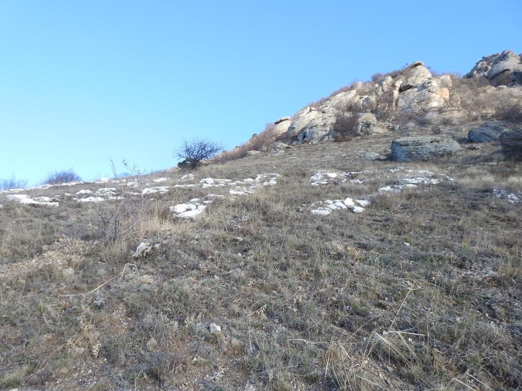 Склоны горы Аленга