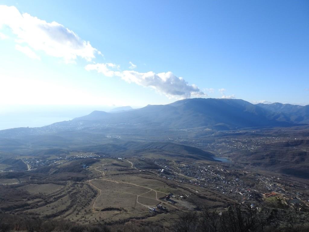 Вид с горы Аленга