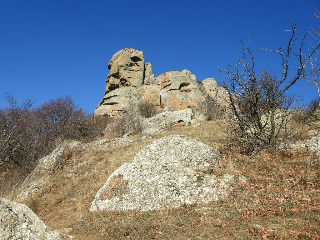 Скалы Чомачай, гора Аленга
