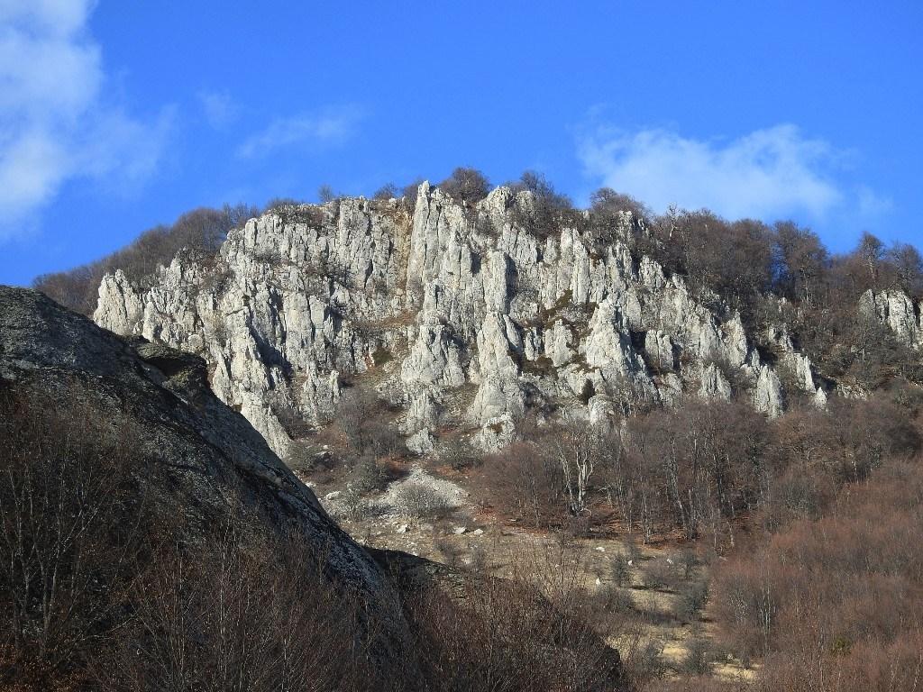 Юркины скалы на горе Демерджи