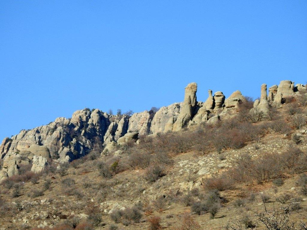 Скалы Южная Демерджи