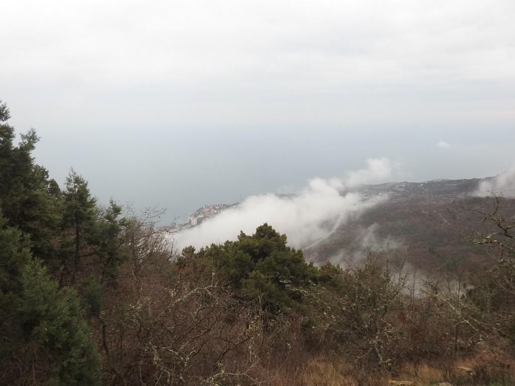 Форос в тумане