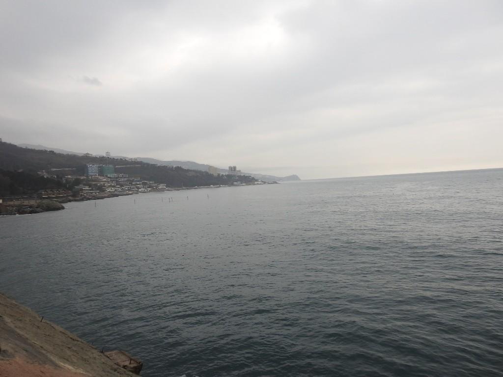 Черное море у Алупки
