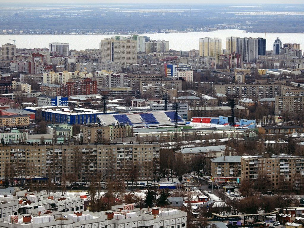 """Стадион """"Локомотив"""", Саратов"""