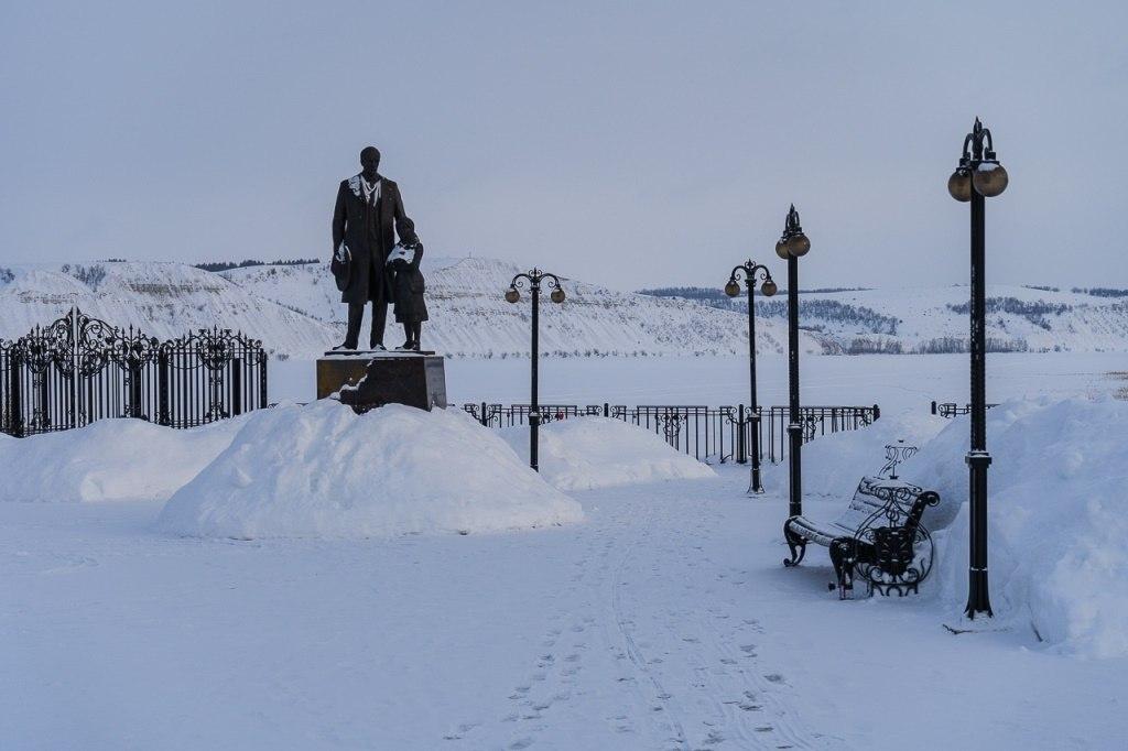 Памятник Ф.Нансену