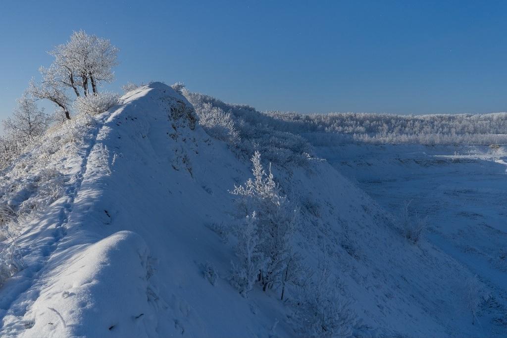 Снежные холмы Вольска
