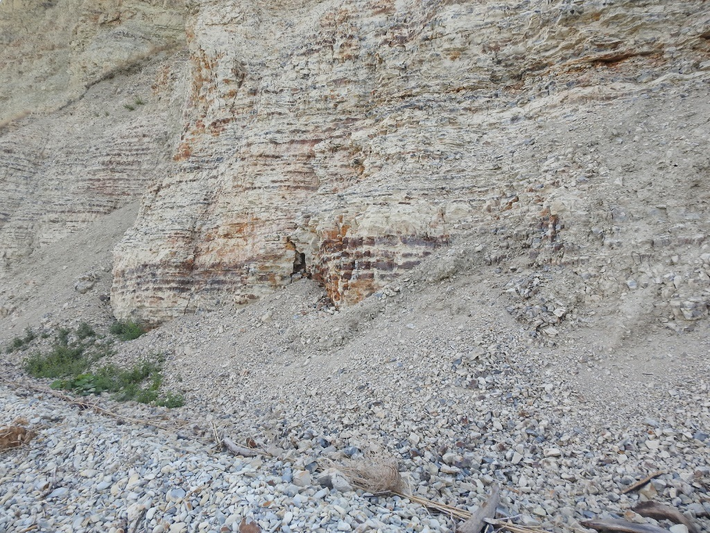 Стена обрывы