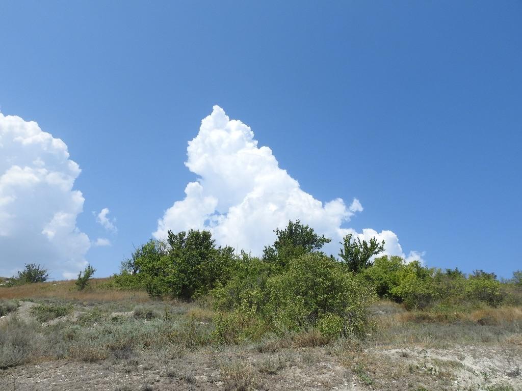 Облако в виде горы