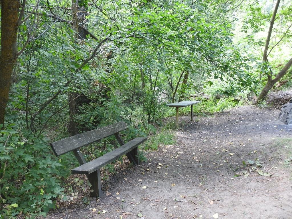 Скамейки на природе