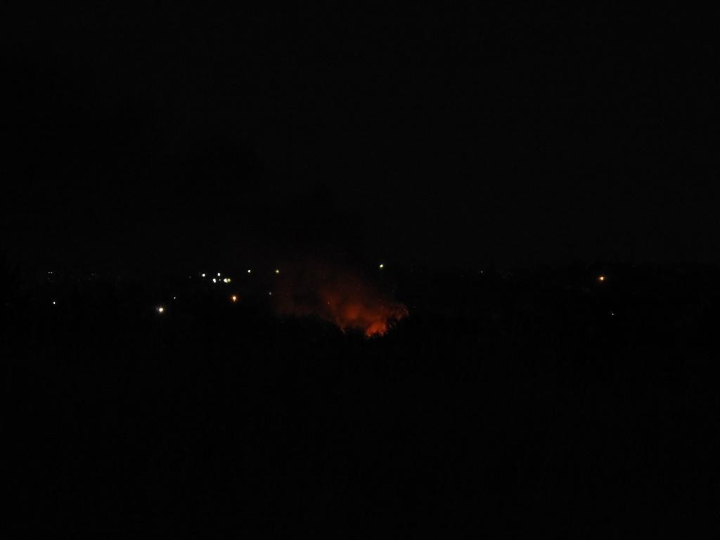 Пожар в Поливановке