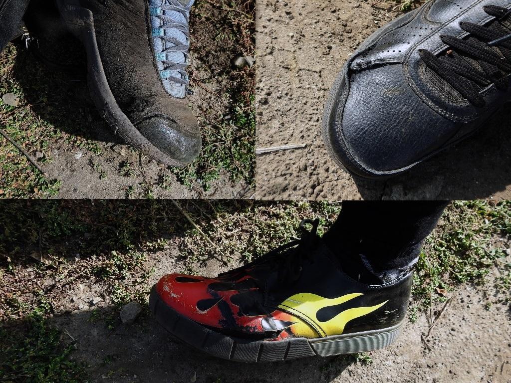 Истоптанная обувь