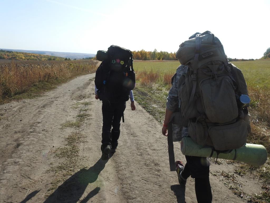 Поход по Балтайскому району