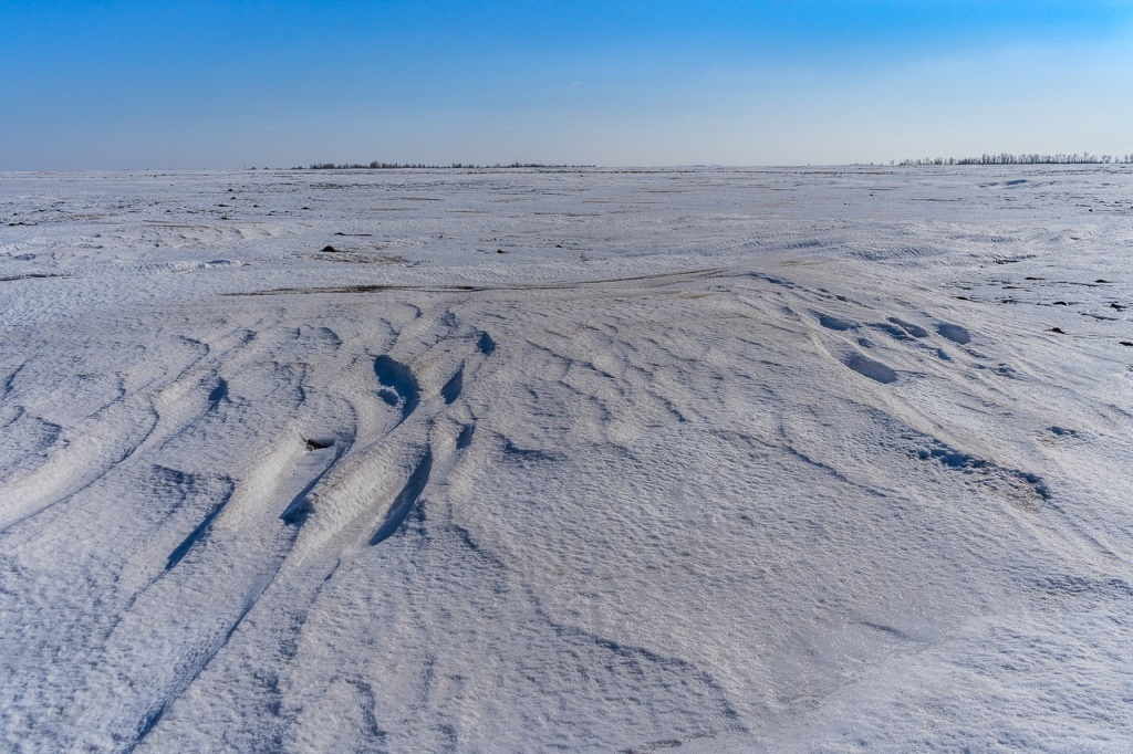 Советский район зимой
