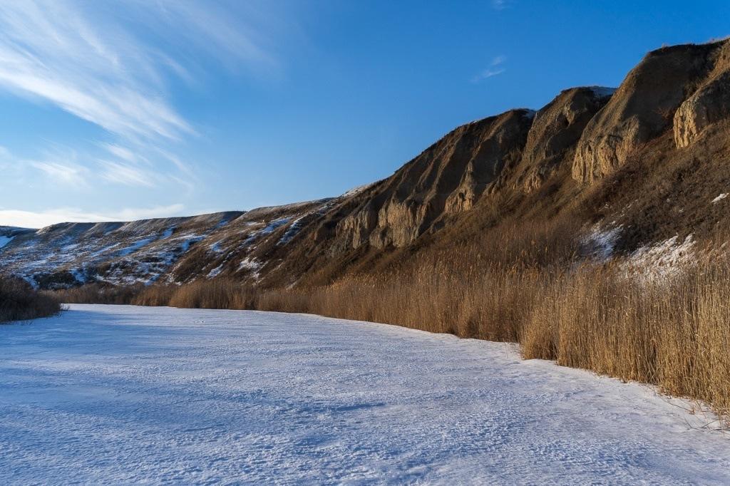 Берег реки Мечетка