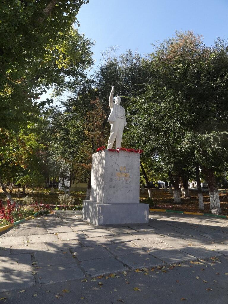 Памятник Ленину Вольск