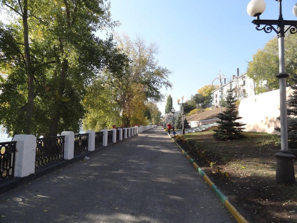 Набережная Вольск