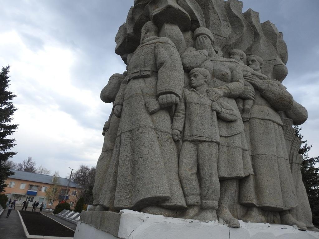 Памятник ВОВ Степное