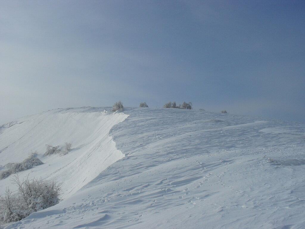 Лысогорское плато зимой