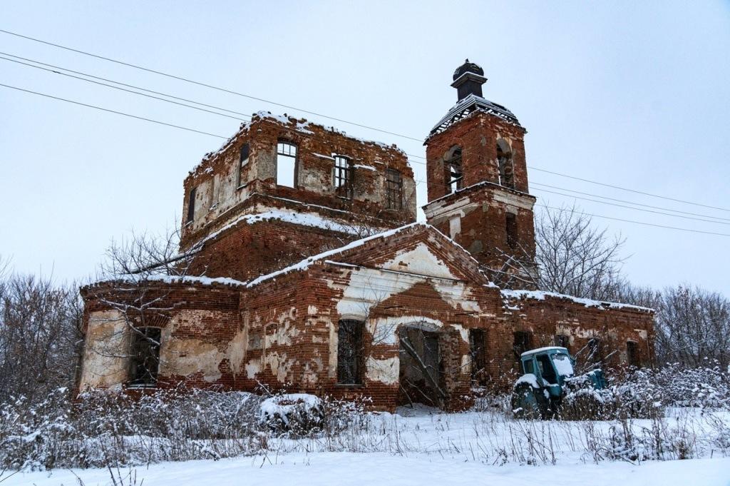 Церковь Николая Чудотворца с. Гремячка