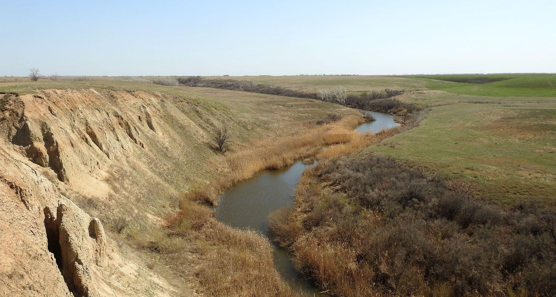 река Большой Караман в Советском районе