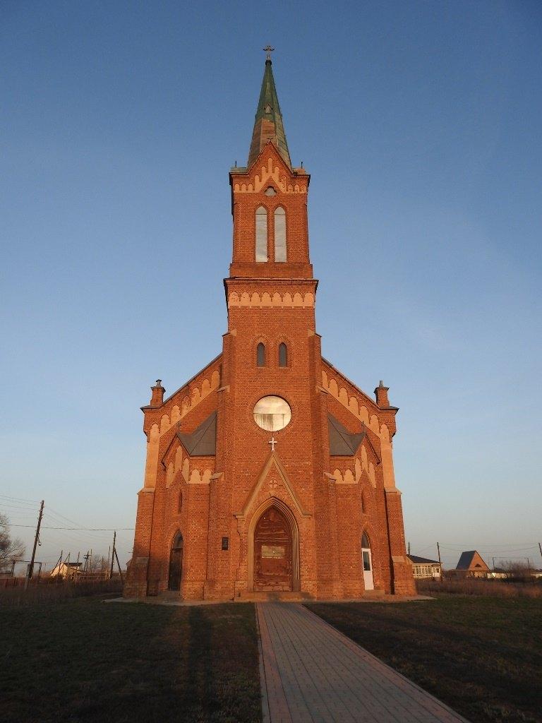 Лютеранская церковь, Верхний Еруслан