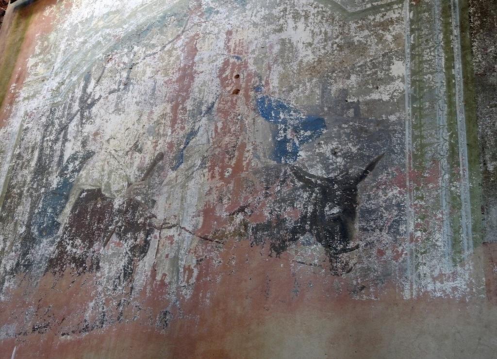 Фреска Иисус на осле